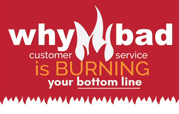 Is bad customer service burning your bottom line?