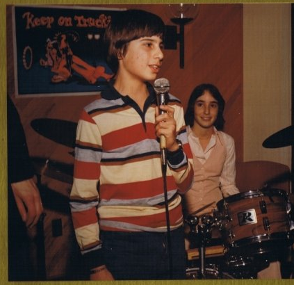 Doug's first speaking gig, circa 1977 at his bar mitzvah
