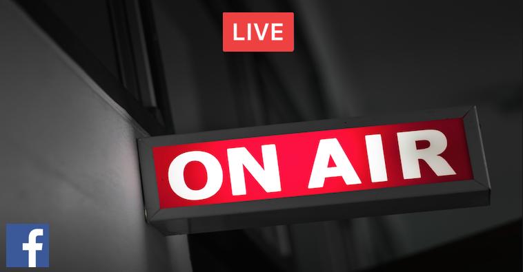Facebook LIVE! Easy as 1 - 2 - 3 — Doug Sandler Blog