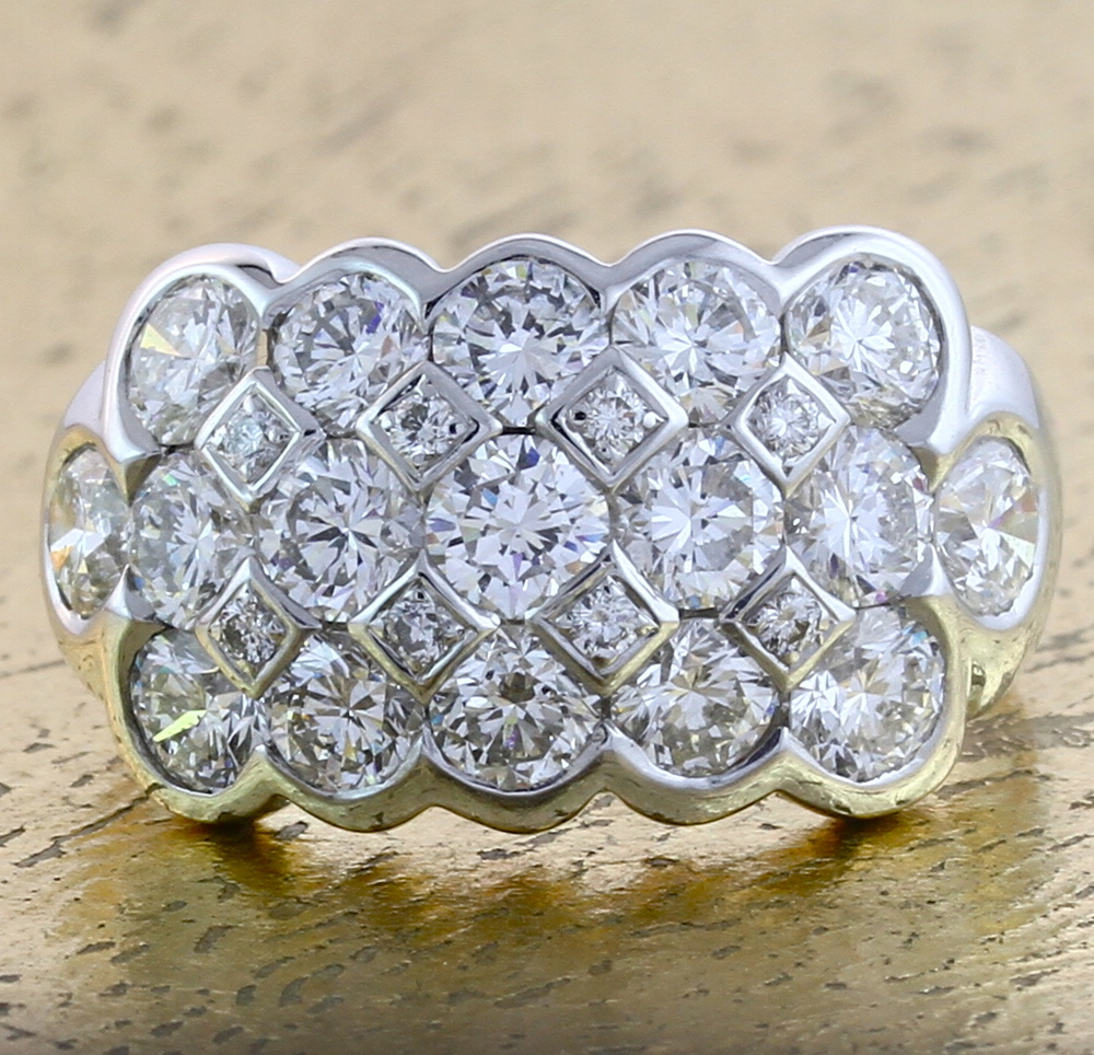 Cocktail Diamond Ring - Item No: 0013167