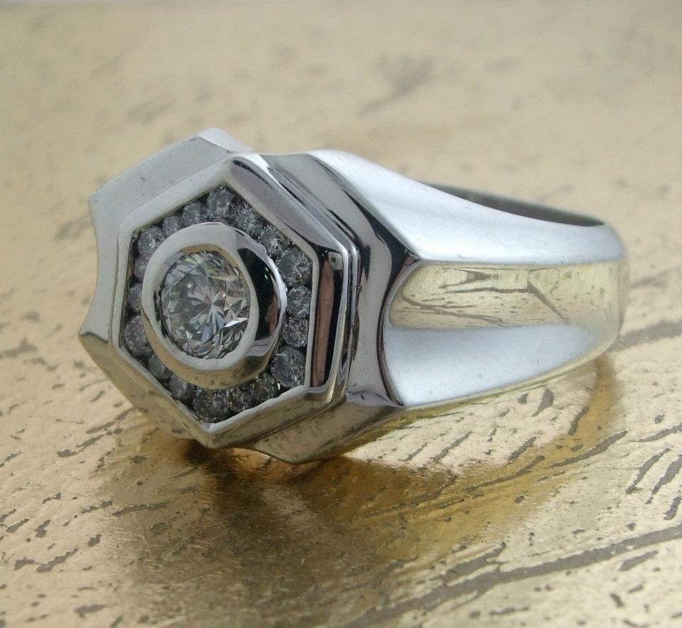 Men's Diamond Ring - Item No: 0013519