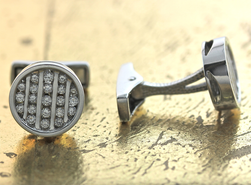 Diamond Cufflinks - Item No: 0012706