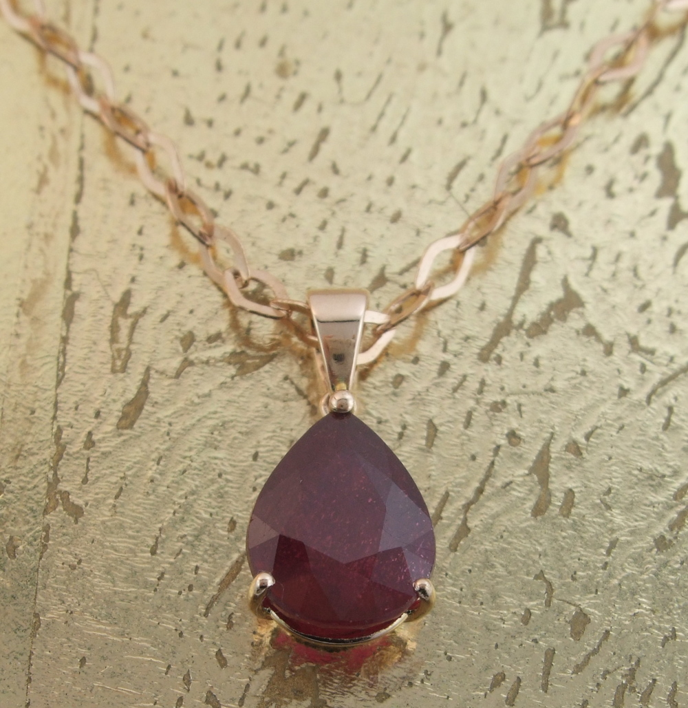 Ruby Pendant - Item No: 0013644