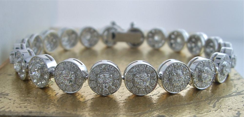 Diamond Bracelet - Item No: 0013535