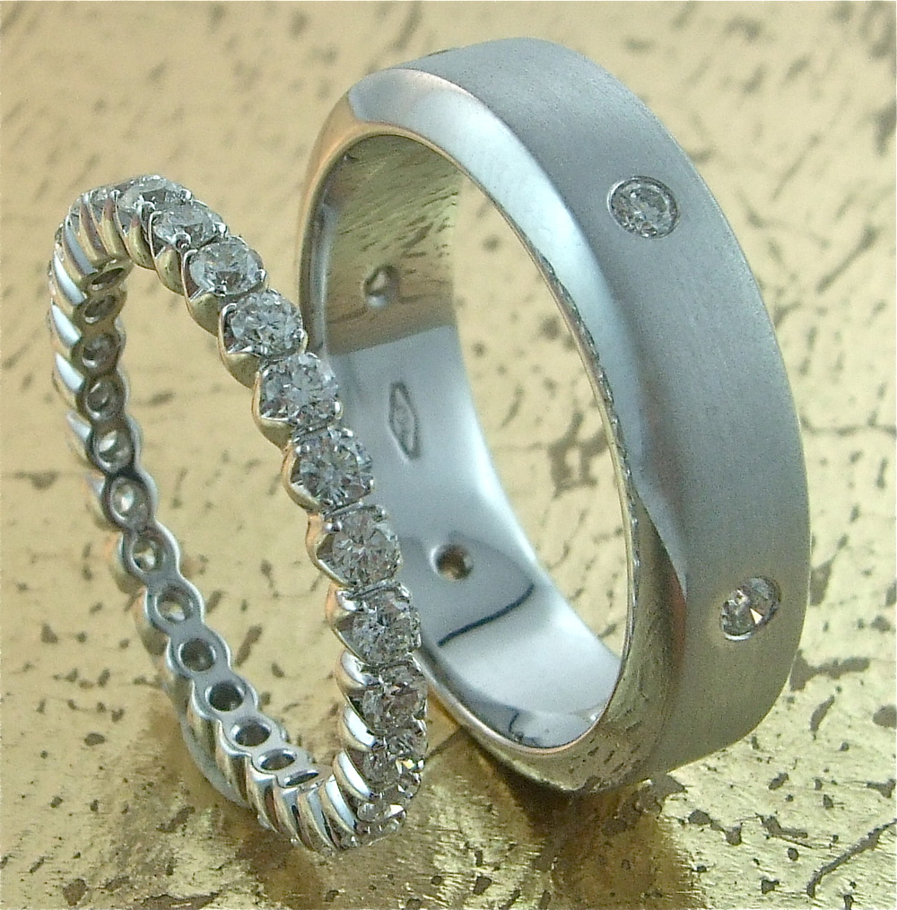 Wedding Bands His & Hers - Item No: 0013569-0013570