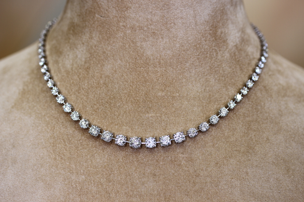 Diamond Necklace - Item No: 0013690