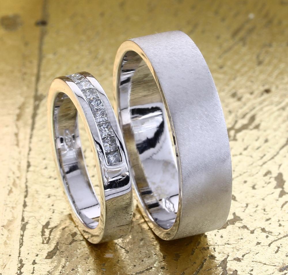 His Her Wedding Rings Customised Engagement Rings in Dubai