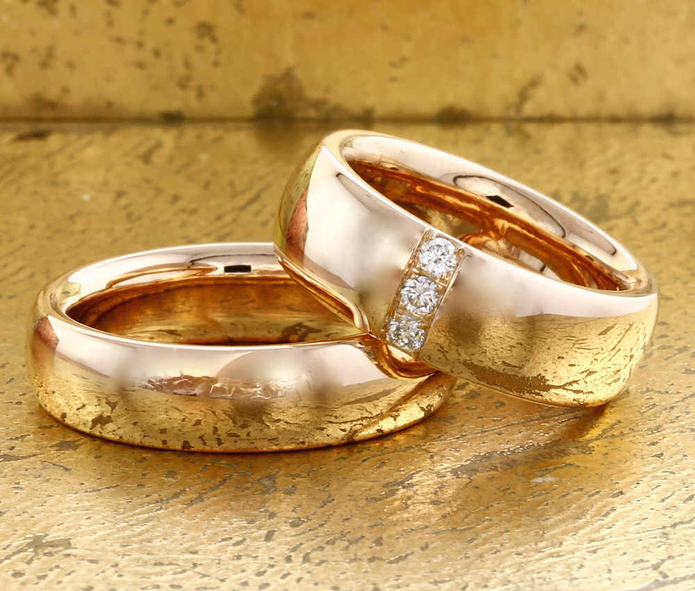 His Her Wedding Rings Engagement Rings Dubai Diana Jewellery