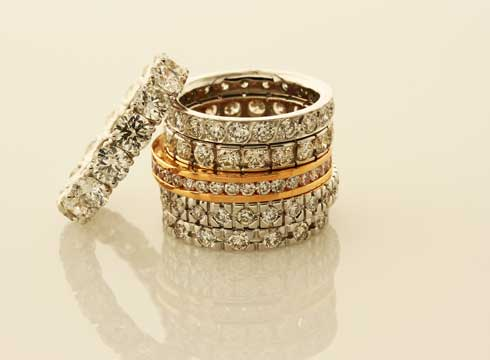Wedding & Eternity Rings - Tie the knot or celebrate an anniversary with a stunning wedding ring that signifies your infinite bond. Choose from our classic designs or opt for something with a little more sparkle.