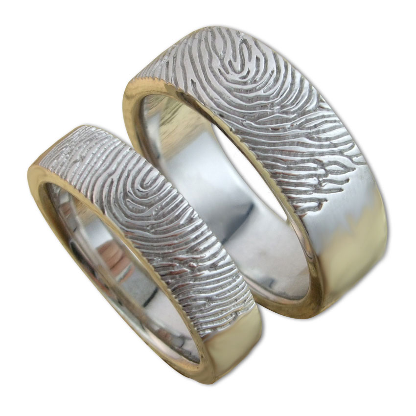 unique extra wedding steps easy engagement ring rings engraved wide in blog fingerprint