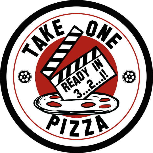 Logo for Take One Pizza, www.takeonepizza.com, San Jose CA