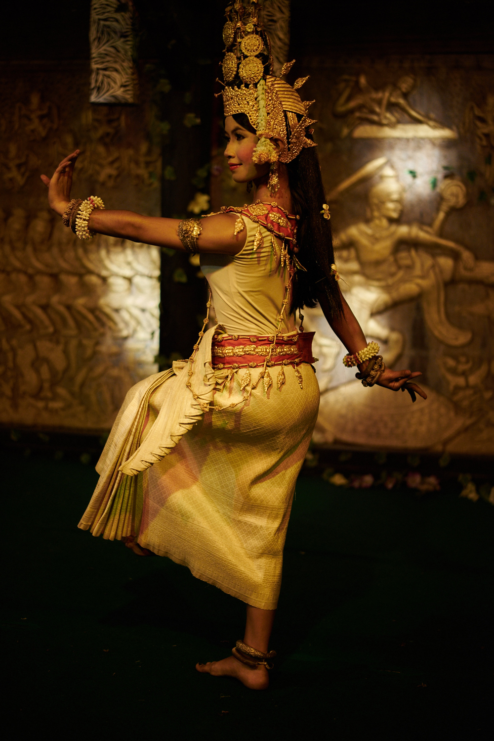 the beautiful Apsara