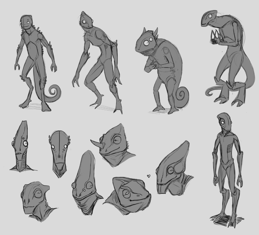 Archaius Character Sketches