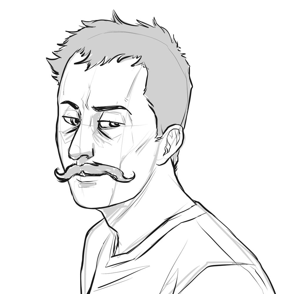 Geoff Ramsey Sketch