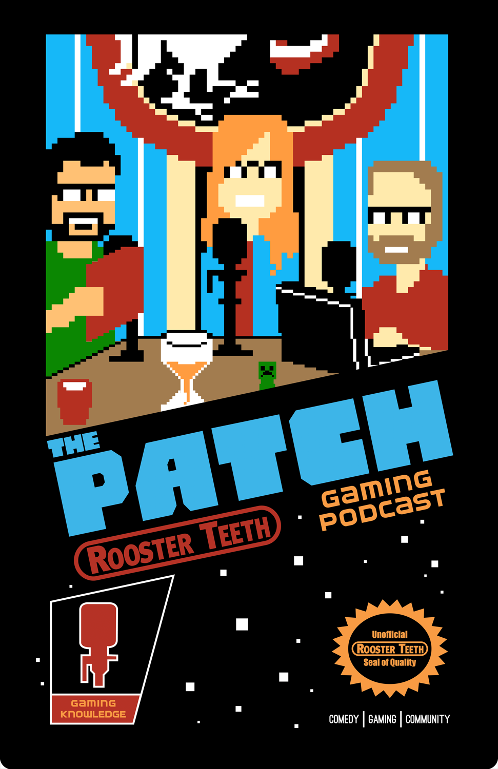 The Patch 8-Bit Style