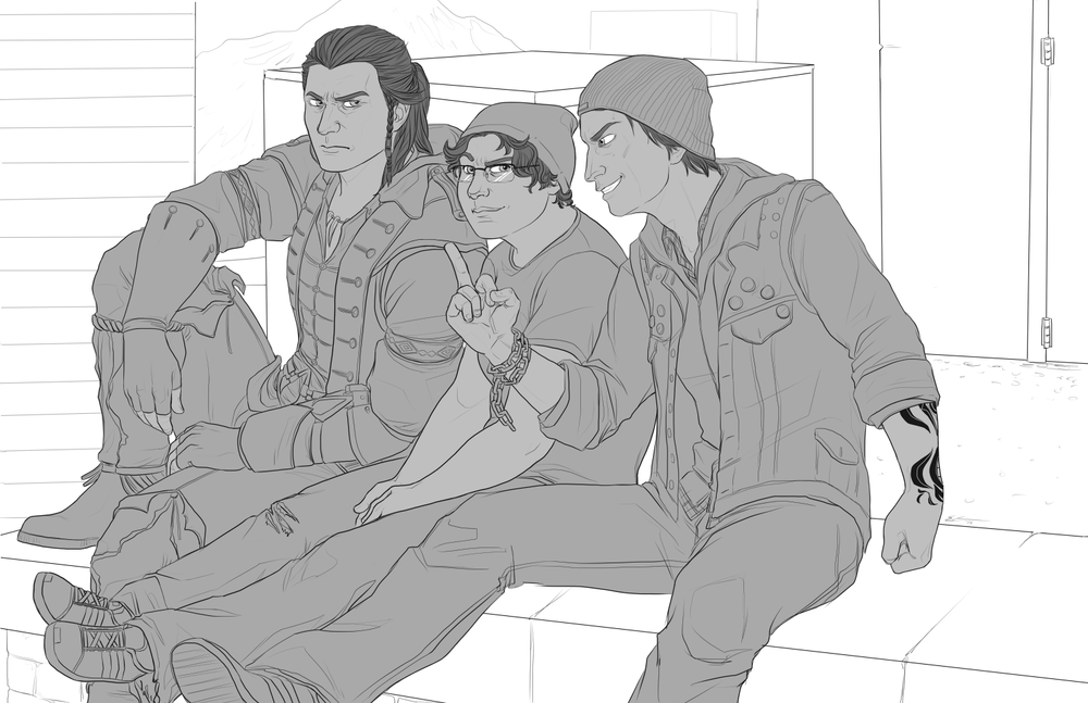 Connor, Barb, Delsin Linework