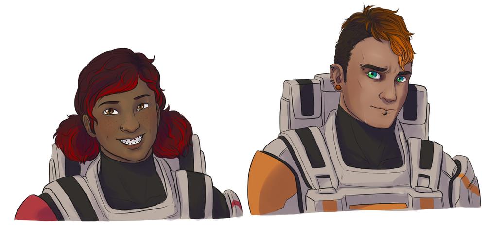 Lt. Jensen and Lt. Bitters