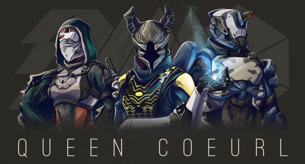 QueenCoeurl's Destiny Characters