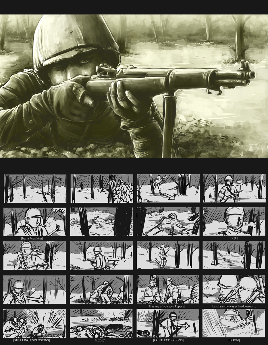 BoB Shifty - Storyboard pt1