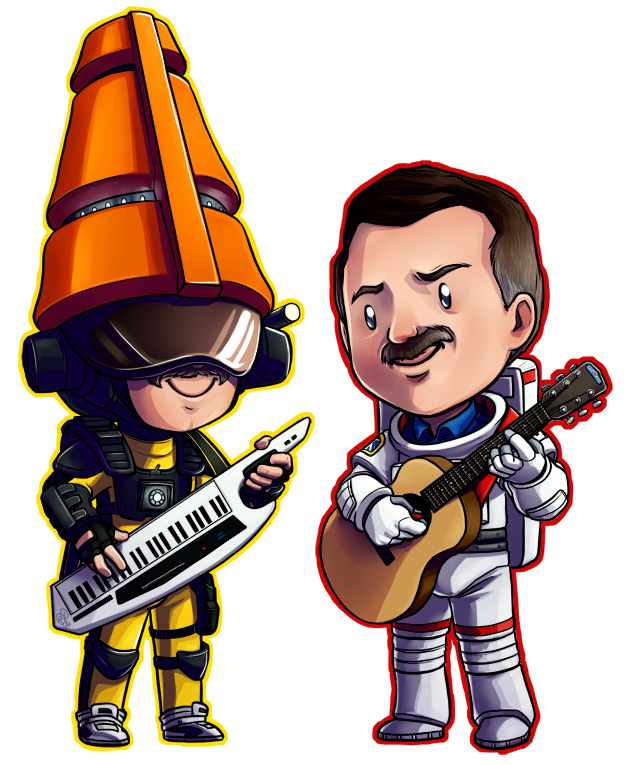 Musical Space Mustache Bros