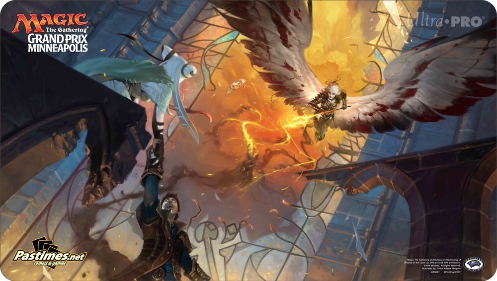 Exclusive Grand Prix Playmat guaranteed with Main Event entry!