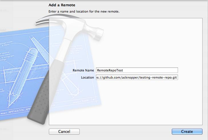 Add Remote Repo