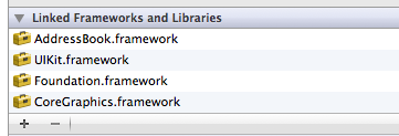 addressbookframework