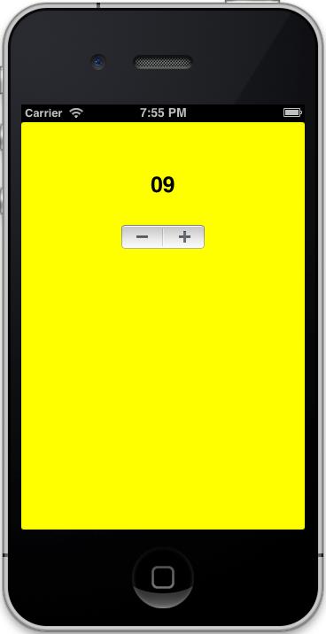 UIStepper_iOS-Simulator