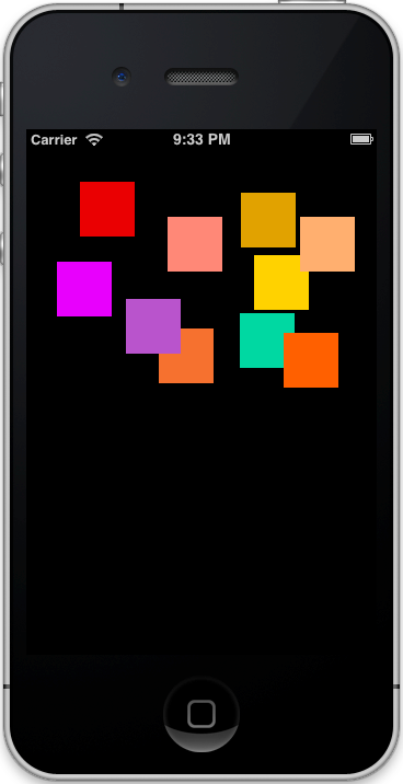 DraggingViews_iOS_Simulator