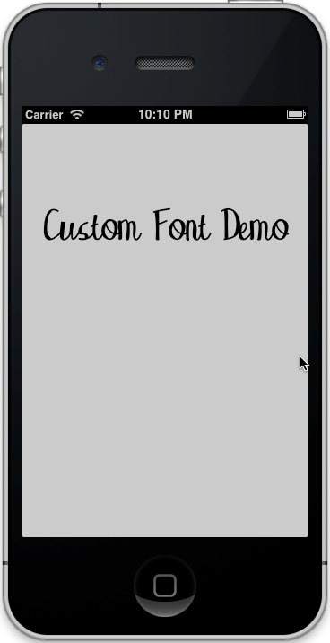 CustomFont_Simulator