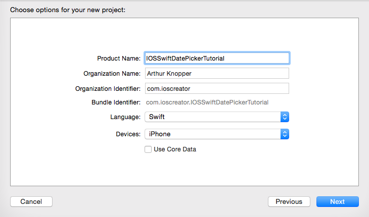 Displaying Date with Date Picker in iOS8 with Swift