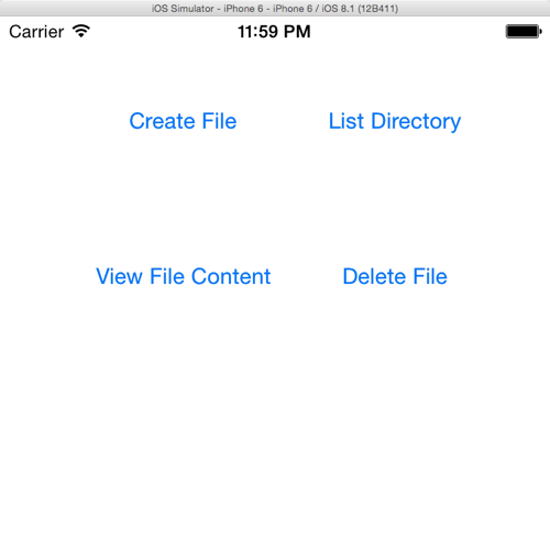 File Management Tutorial in iOS8 with Swift - iOScreator