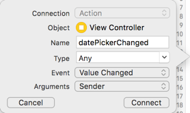 Datepicker ios tutorial storyboard