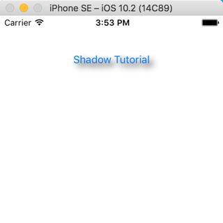 Add Shadow to a Button iOS Tutorial - iOScreator