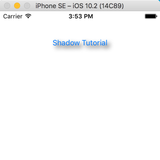 Shadow button simulator