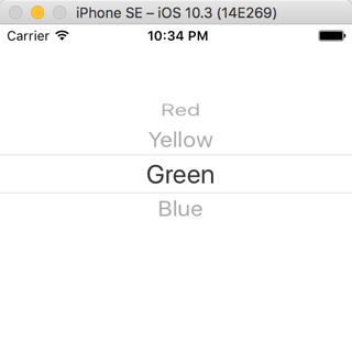 Picker View iOS Tutorial - iOScreator
