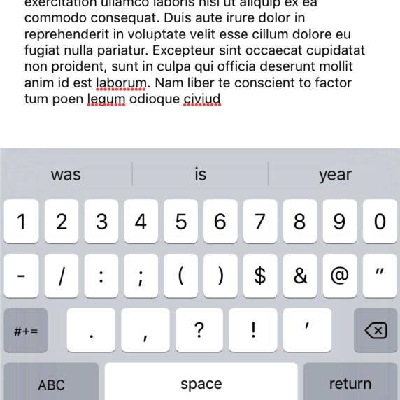 Move View Behind Keyboard iOS Tutorial - iOScreator