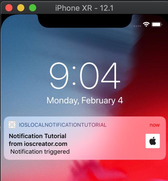 Local Notification iOS Tutorial - iOScreator