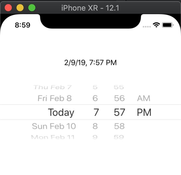 Display Date with Date Picker iOS Tutorial - iOScreator