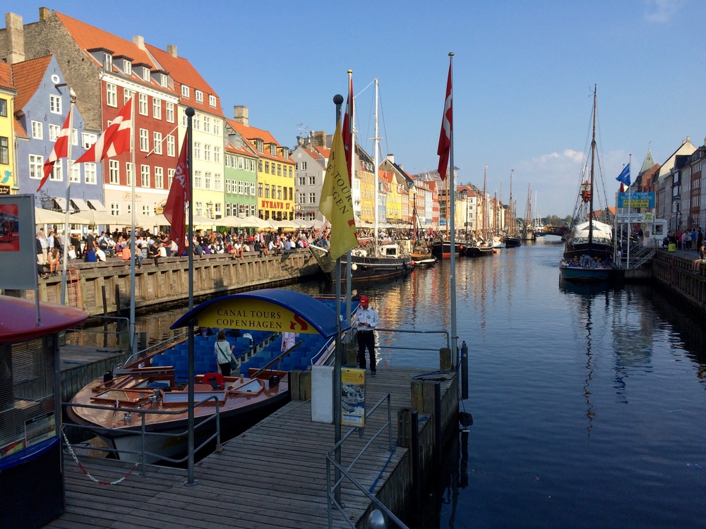 "Nyhavn looking at the ""Sunny Side"""