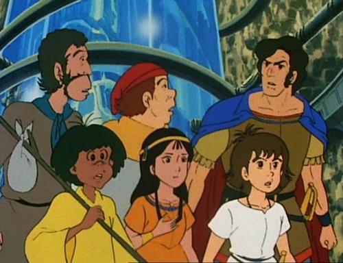 Back l-r: Sancho, Pedro & Mendoza. Front l-r: Tao, Zia & Esteban