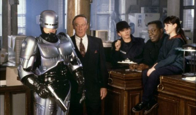 Eden (Robocop), David Gardner (The Chairman), Yvette Nipar (Madigan), Blu Mankuma (Parks) and Sarah Campbell (Gadget)