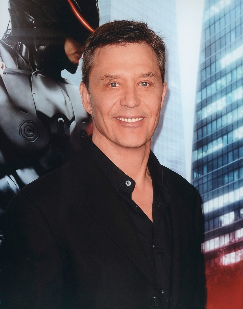 Richard Eden at the Robocop Premiere (2014)