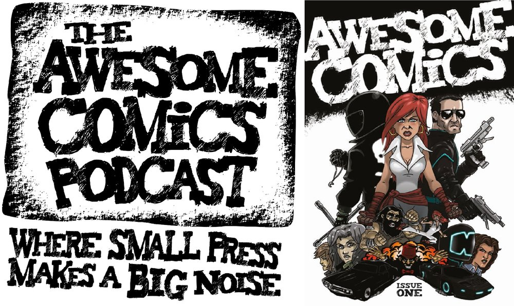 THE AWESOME COMICS PODCAST - The ACP is a weekly comics podcast hosted by Vince Hunt (creator of The Red Mask From Mars), Dan Butcher (creator of Vanguard) and Tony Esmond (writer for Down The Tubes).  As well as bringing you a weekly dose of comics chat (including interviews with comic creators and beyond), they've also launched their own Awesome Anthology Comic. WEBSITE
