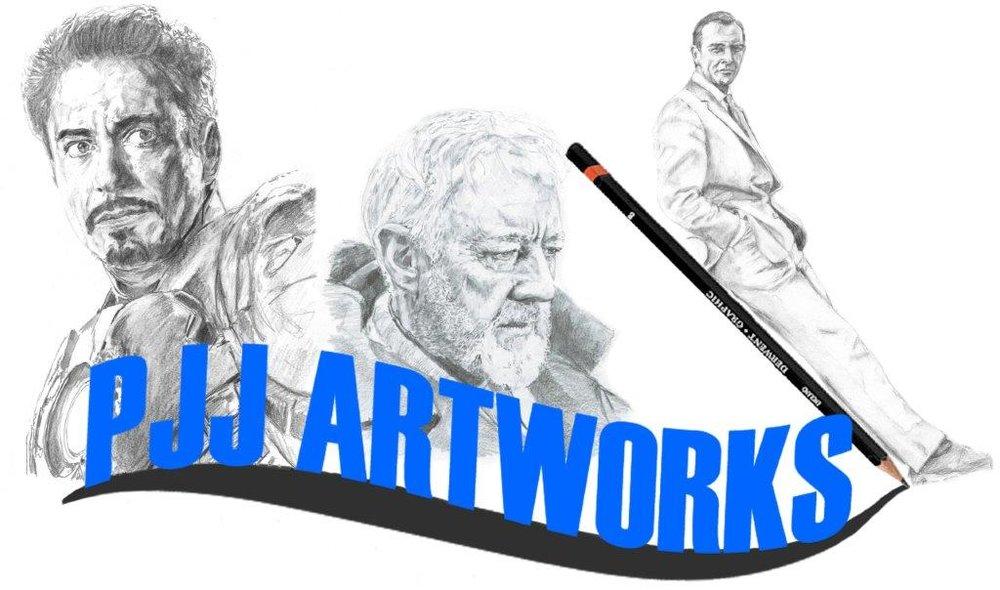 PJJ ARTWORKS - We sell hand drawn artwork and prints and memorabilia. WEBSITE