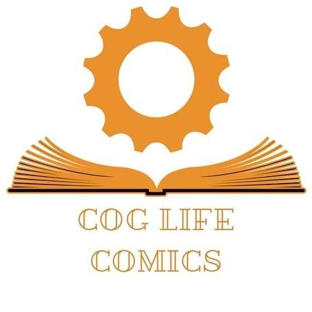 COG LIFE COMICS - Cog Life Comics is truly at home telling the weird and the wonderful, the bizarre and the real, and the past, present and future. So if you want to experience the heart-wrenching, minding-bending fantasia that only the best UK independent comic books have to offer, then you are home!WEBSITE3 QUESTION INTERVIEW