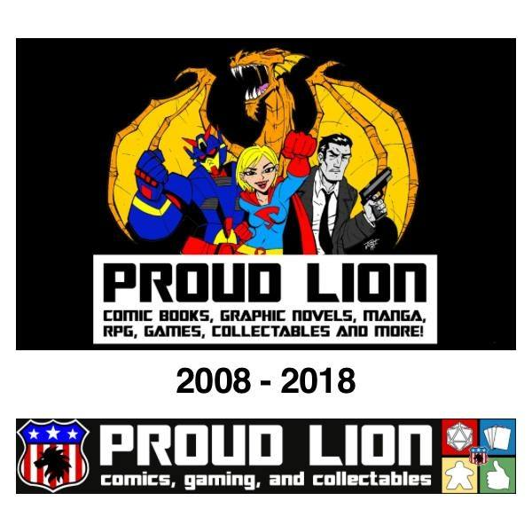 PROUD LION - Proud Lion is back for another year at True Believers and looking forward to seeing everyone at the new venue! We'll have a range of comic books, variant covers, memorabilia and a probably few show deals as well!WEBSITETAKES CARD PAYMENTS
