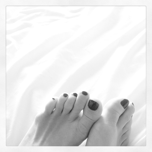 Feet that danced the night away... now pretty tired!