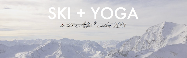 ski + yoga retreat 2014