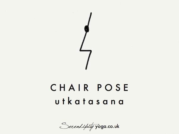 chair pose // utkatasana